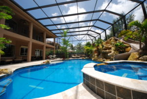 Pool Screen Enclosure by Coastal Screen & Rail in Boca Raton