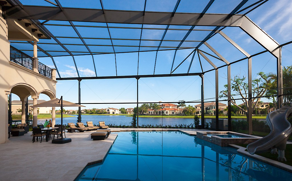 Picture Window Enclosure Royal Palm Beach